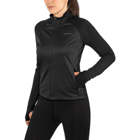 Craft Urban Run Chaqueta Fuseknit Mujer, black